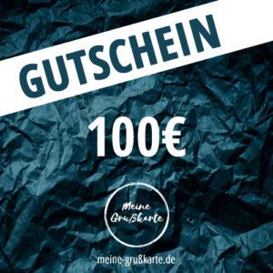 100 Euro-Gutschein auf meine-grusskarte.de